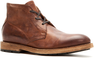 Frye Men's Bowery Leather Lace-Up Chukka Boots, Tan