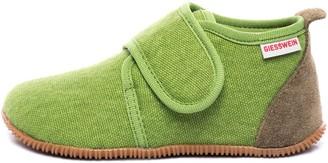 Giesswein Kids Slipper Strass Slim Fit Jeans 21 - Houseshoes with Velcro Fastener for Boys & Girls Unisex Children's Slippers Made of Cotton Non-Slip Ideal for kindergartens