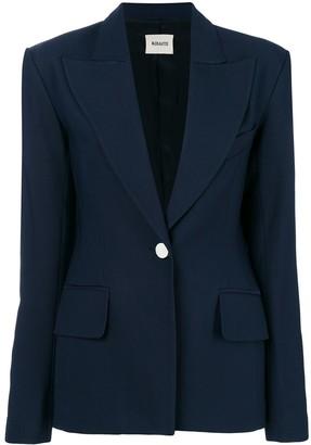 KHAITE Slim-Fit Buttoned Blazer