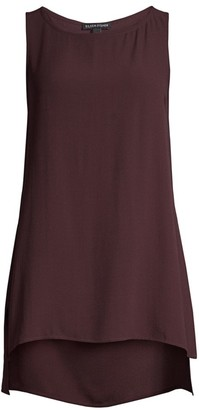 Eileen Fisher Long Silk Tank Top