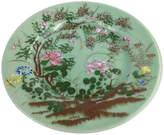 One Kings Lane Vintage Antique Celadon Floral Plate