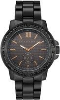 Sean John Men's Venice Black Bracelet Watch 45mm