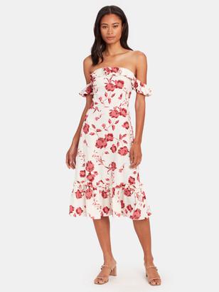 MISA Oona Midi Dress
