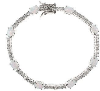 Kenneth Jay Lane Cz By Plated Bracelet