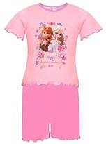Disney Little Girls' In Official Frozen Pyjamas Sleepsuit Onesies
