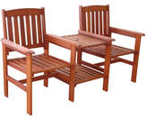 Coogee Outdoor Timber Deck Chair & Table Combo