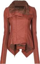 Rick Owens Naska biker jacket - women - Goat Skin - 40