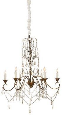 Aidan Gray Denbigh Castle 6 - Light Candle Style Classic / Traditional Chandelier