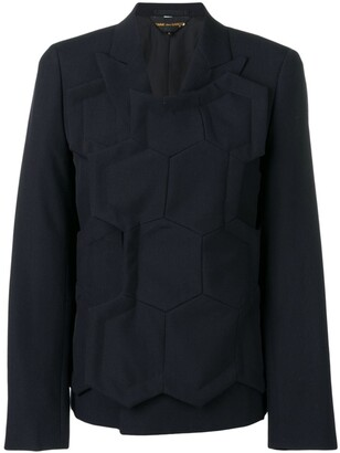 Comme des Garcons Beehive layer jacket