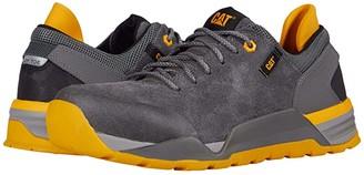 Caterpillar Sprint Suede Alloy Toe (Black) Men's Shoes