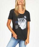 Lee Midnight Wolf T-shirt Black