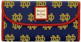 Dooney & Bourke NCAA Notre Dame Continental Clutch