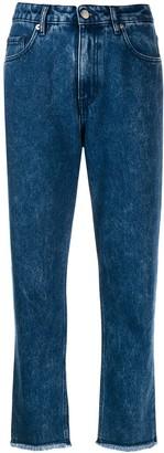 Love Moschino Straight Leg Jeans