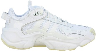 adidas Magnum Runner W Sneakers In Patent Leather And Micro Mesh