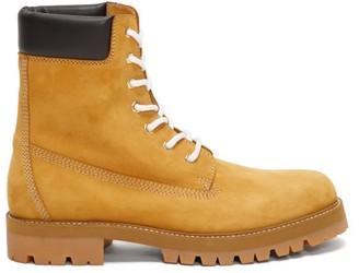 Vetements Lace-up Suede Boots - Mens - Tan