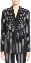 Givenchy Women's Stripe Wool Jacquard Jacket