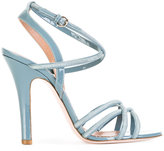 RED Valentino strappy heeled sandals - women - Leather - 37.5
