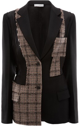 J.W.Anderson patchwork tailored wool jacket