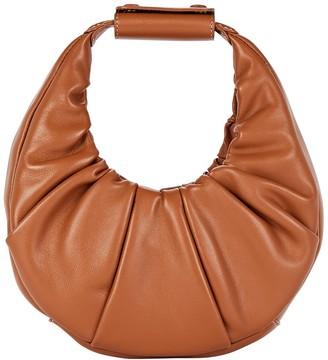 STAUD Mini Moon Soft Leather Bag