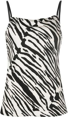 Calvin Klein Zebra Print Vest