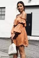 Forever 21 FOREVER 21+ Contemporary Satin Dress