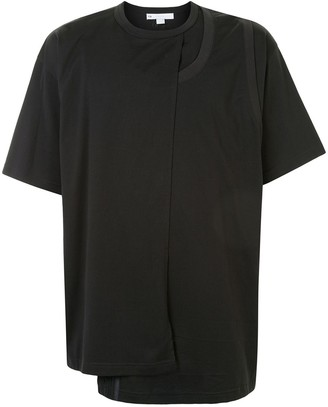 Y-3 layered crew-neck T-shirt