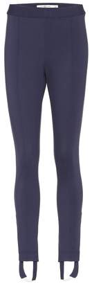 Tory Sport Tech Ponte stirrup trousers