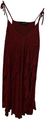 Isabel Marant Burgundy Cotton Dress for Women