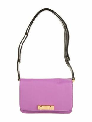Marni Leather Shoulder Bag Pink