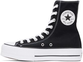 Converse Black Platform Chuck Taylor All Star High Sneakers
