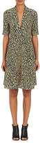 Derek Lam Women's Leopard-Print Silk Crêpe De Chine A-Line Dress