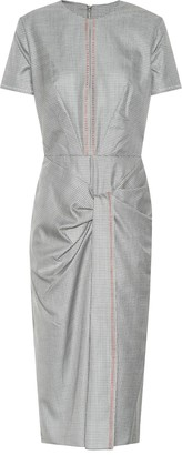 Roland Mouret Dalva wool and silk midi dress