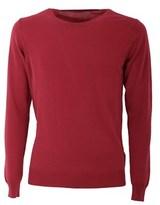 Daniele Fiesoli Men's Red Cotton Sweater.