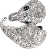Roberto Cavalli Iconic Snake Crystals Ring