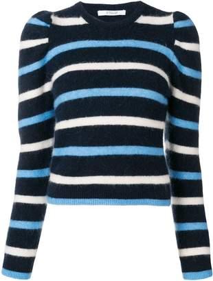 Derek Lam 10 Crosby striped puff sleeve sweater