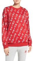 adidas Women's Hu Crewneck Sweatshirt