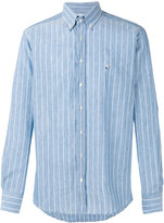Etro striped shirt - men - Cotton/Linen/Flax - 42