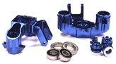 Integy RC Hobby T4093BLUE Billet Machined Steering Block for E-Maxx 3903 3908 & T-Maxx 4908 4907 by Integy