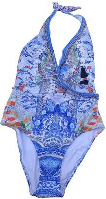 Camilla Blue Lycra Swimwear for Women
