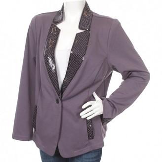 Bob Mackie Purple Jacket for Women