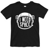 Urban Smalls Black 'I Need Space' Crewneck Tee - Toddler & Boys