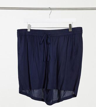 Junarose tie-waist shorts in navy