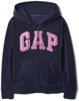 Gap Pro Fleece logo zip hoodie