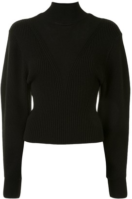 Dion Lee Ribbed Knit Turtleneck Jumper