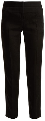 Givenchy Straight-leg Crepe Trousers - Black