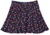 Ralph Lauren Floral Flounce Skirt
