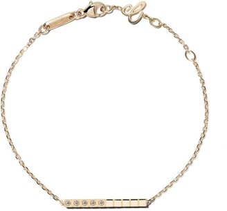 Chopard 18kt yellow gold Ice Cube Pure diamond bracelet
