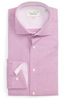 Ted Baker Men's 'Dequan' Trim Fit Texture Dress Shirt