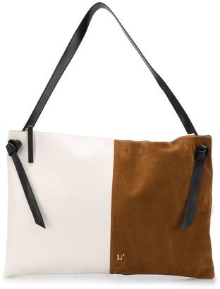 L'Autre Chose Colour Block Shoulder Bag