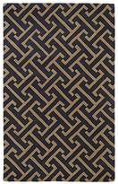 Kaleen REV04-38-23 Revolution Collection Hand Tufted Area Rug, 2' x 3', Charcoal